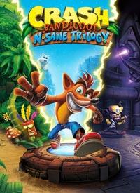 سی دی کی اورجینال Crash Bandicoot N. Sane Trilogy