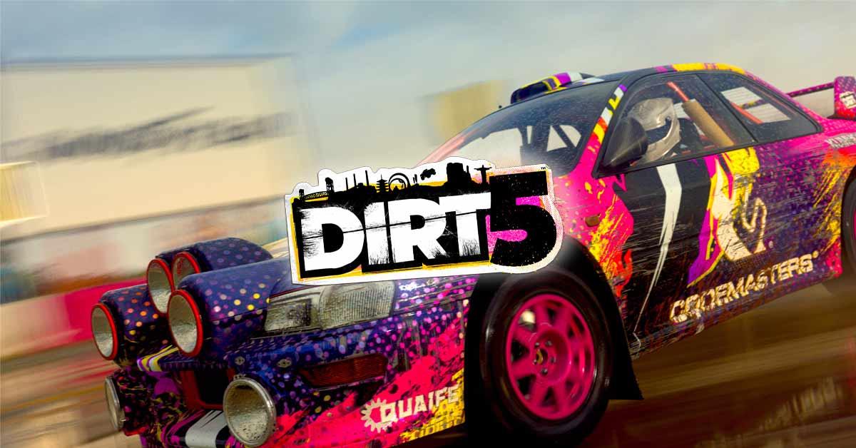 DIRT 5 1 - سی دی کی اشتراکی DIRT 5 Amplified Edition
