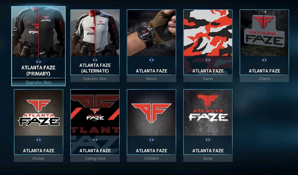 سی دی کی اورجینال  Call of Duty League Team Packs