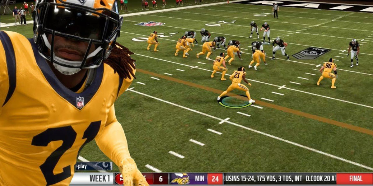 سی دی کی اورجینال Madden NFL 21