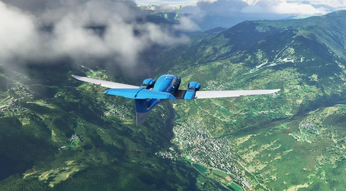 سی دی کی اشتراکی Microsoft Flight Simulator ( آنلاین )