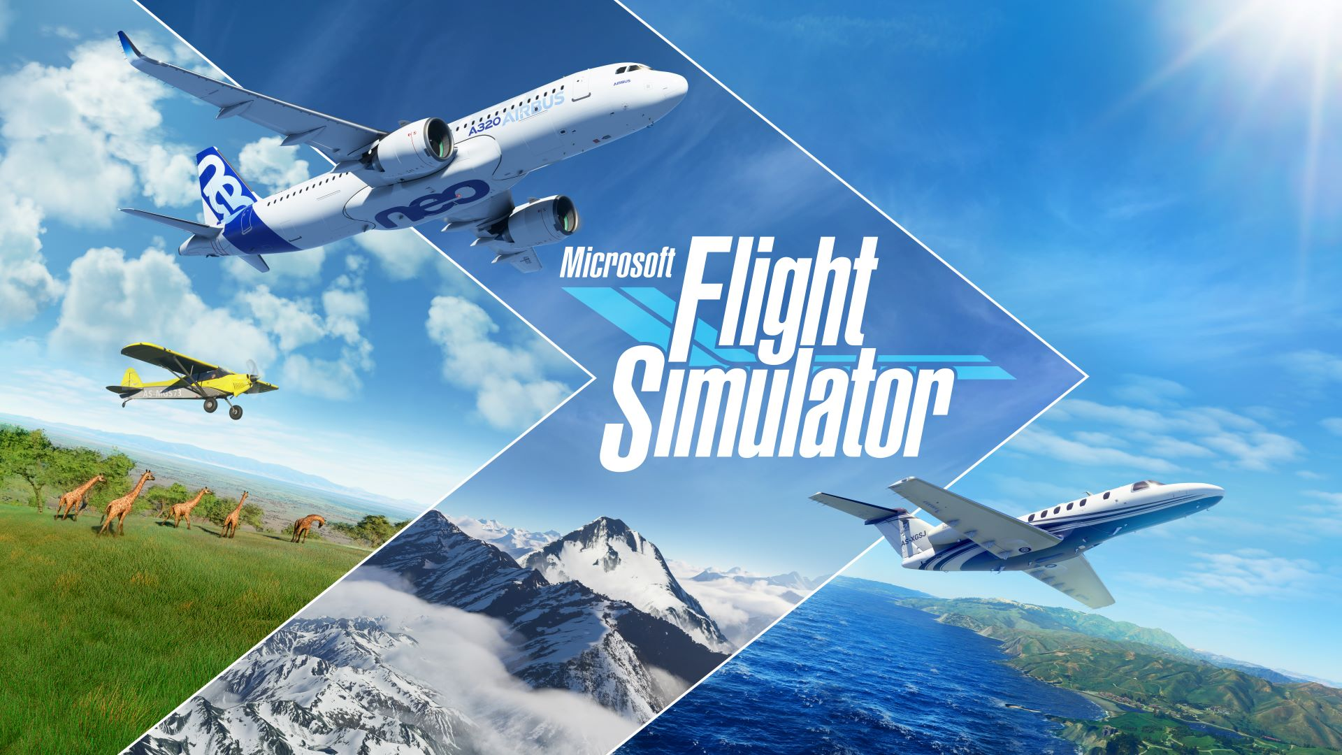 Microsoft Flight Simulator 4 - سی دی کی اشتراکی Microsoft Flight Simulator ( آنلاین )