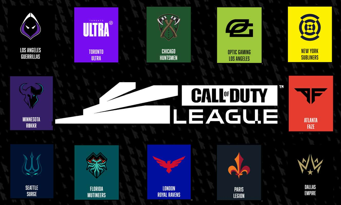 call of duty league 2020 guide teams matches schedule updates esports cdl min - سی دی کی اورجینال  Call of Duty League Team Packs