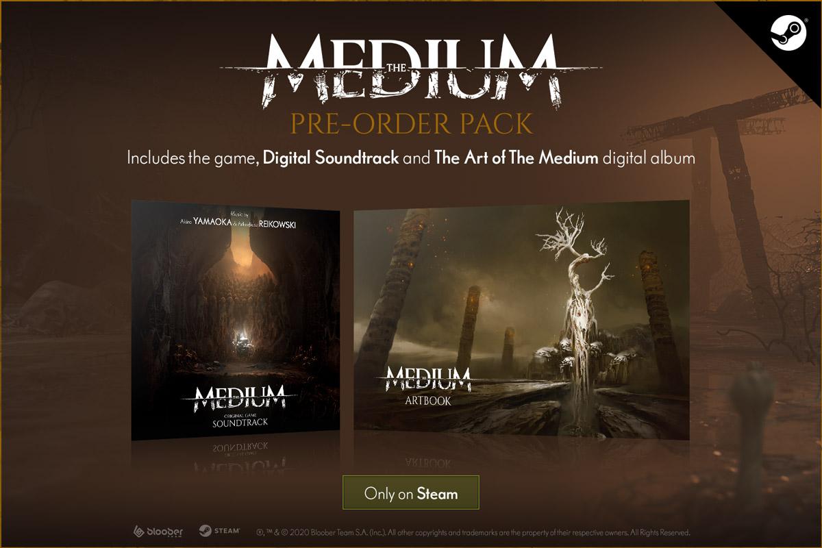 the medium w2 - سی دی کی اورجینال The Medium