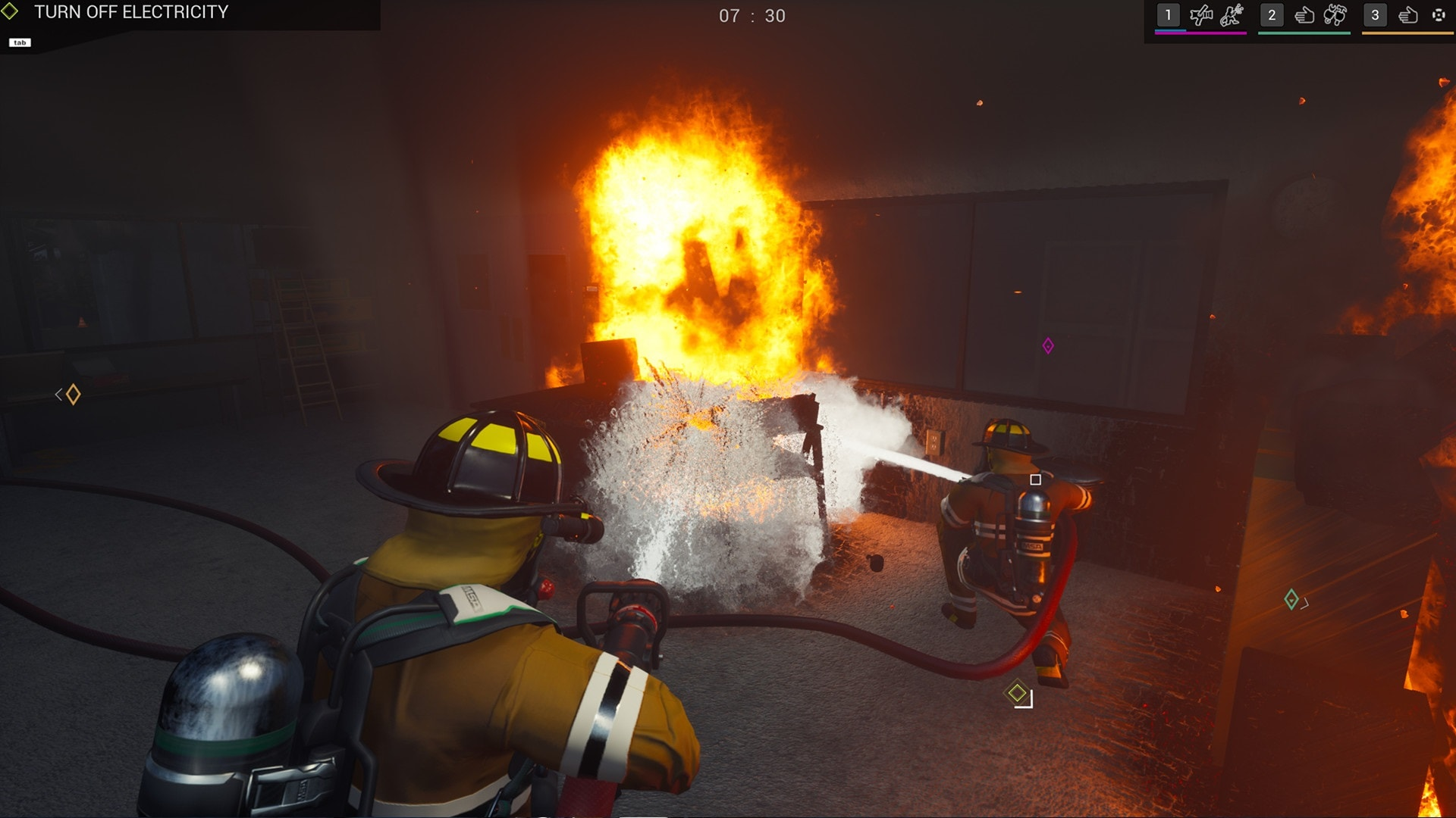 سی دی کی اشتراکی Firefighting Simulator – The Squad