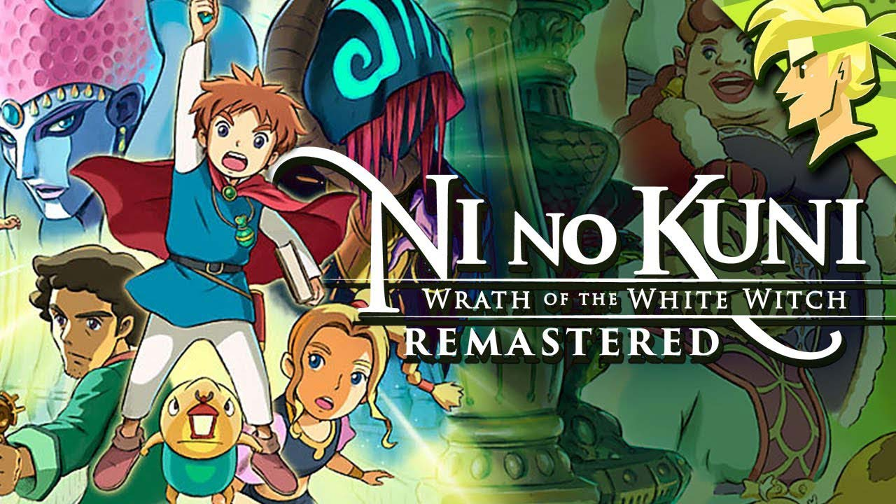 Ni no Kuni Wrath of the White Witch w1 - سی دی کی اورجینال Ni no Kuni: Wrath of the White Witch Remastered