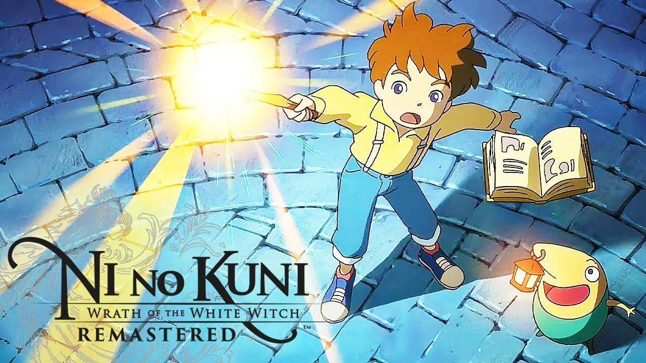 Ni no Kuni Wrath of the White Witch w2 - سی دی کی اورجینال Ni no Kuni: Wrath of the White Witch Remastered