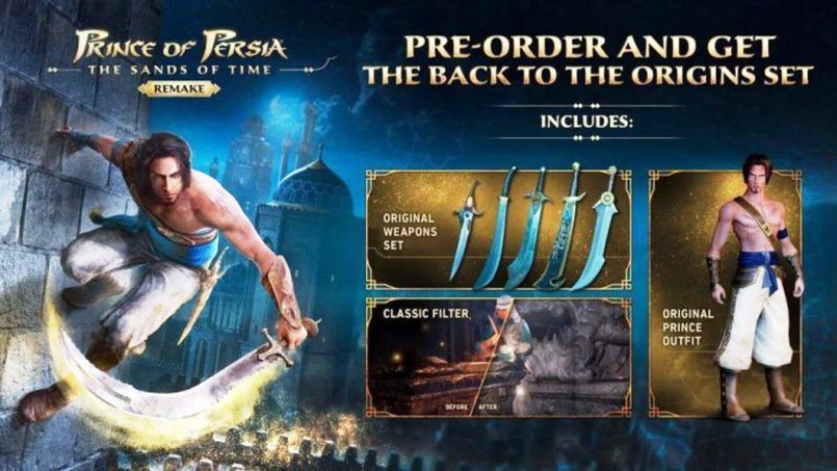 Prince of Persia Remake w3 - سی دی کی اشتراکی Prince of Persia: Sands of Time Remake