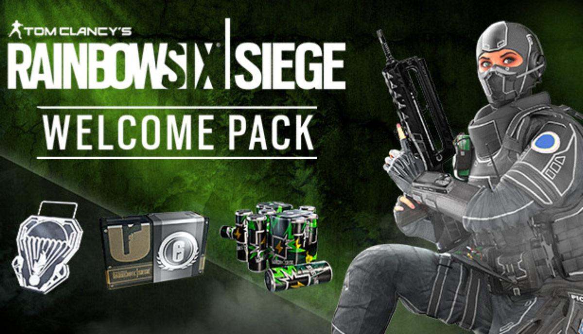 Rainbow Six Siege Welcome Pack w1 1 - سی دی کی اورجینال Rainbow Six Siege - Welcome Pack