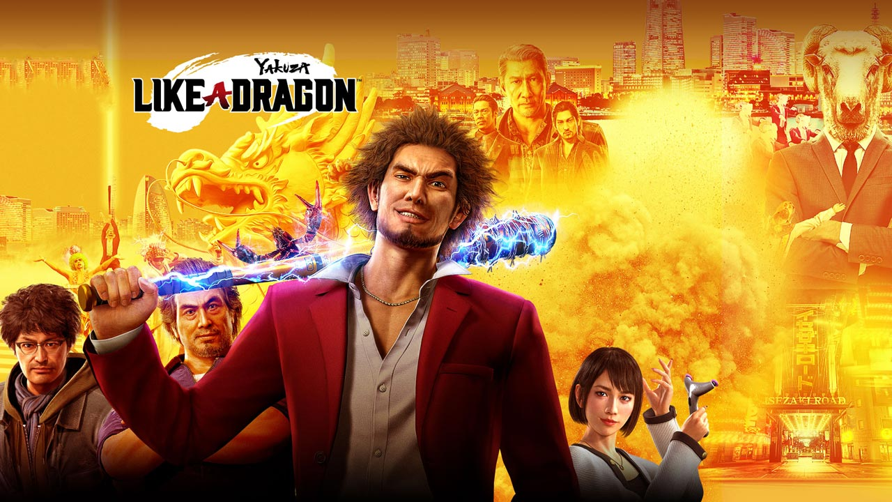 Yakuza Like a Dragon w1 - سی کی دی اشتراکی Yakuza: Like a Dragon Legendary Hero Edition