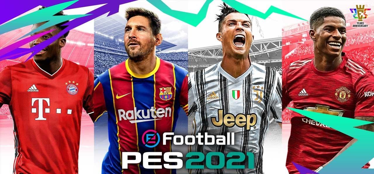 eFootball PES 2021 4 min - خرید سی دی کی اشتراکی eFootball PES 2021