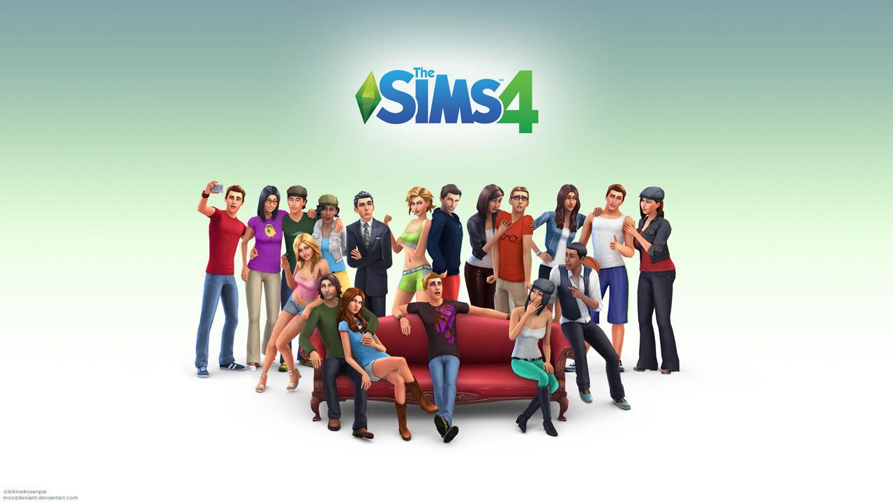 the sims 4 w2 - سی دی کی اورجینال  The Sims 4
