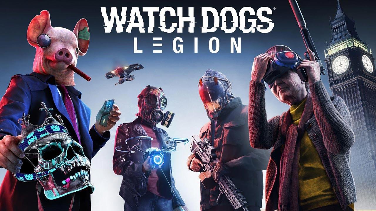 watch dogs legion w1 - سی دی کی اورجینال Watch Dogs: Legion