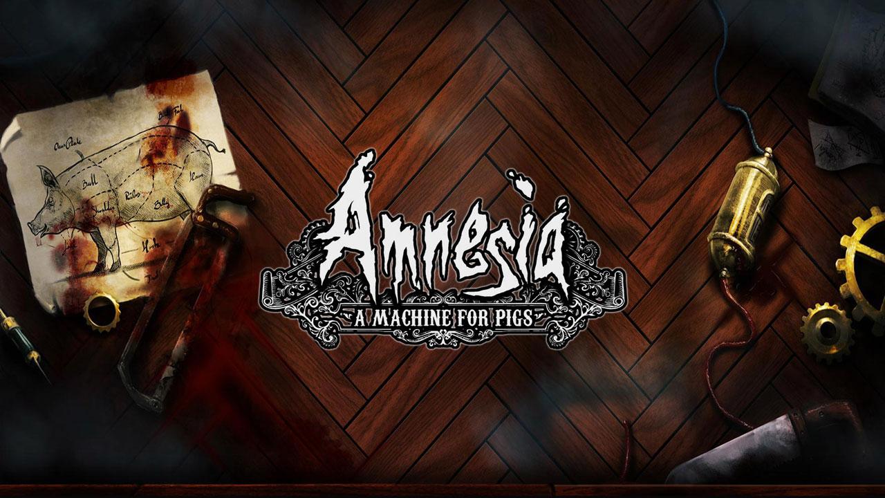 amnesia a machine w1 - سی دی کی اورجینال Amnesia: A Machine for Pigs