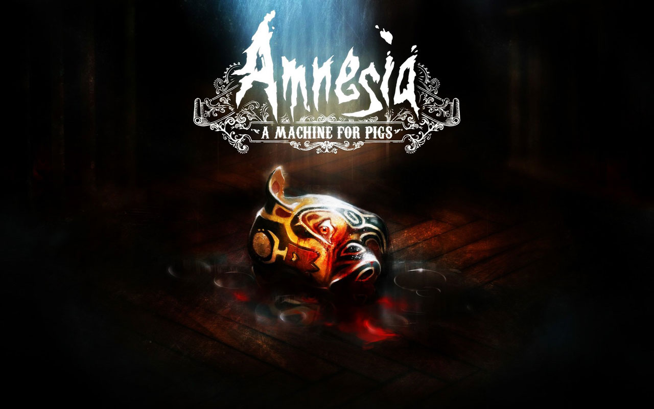 amnesia a machine w2 - سی دی کی اورجینال Amnesia: A Machine for Pigs