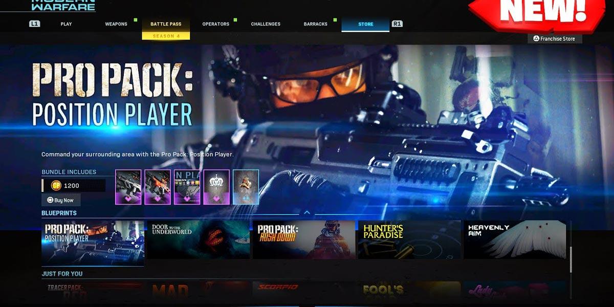 سی دی کی اورجینال Call of Duty: Warzone Pro Pack