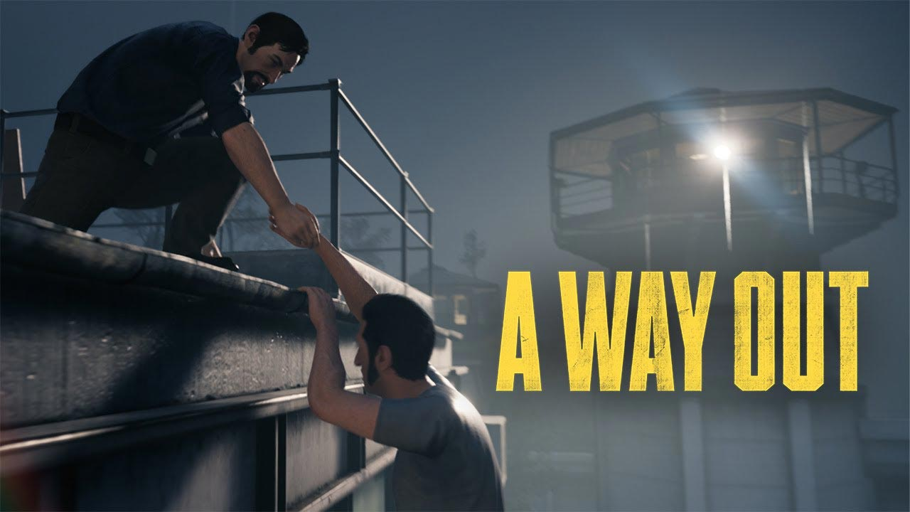 a way out w2 - سی دی کی اورجینال A Way Out