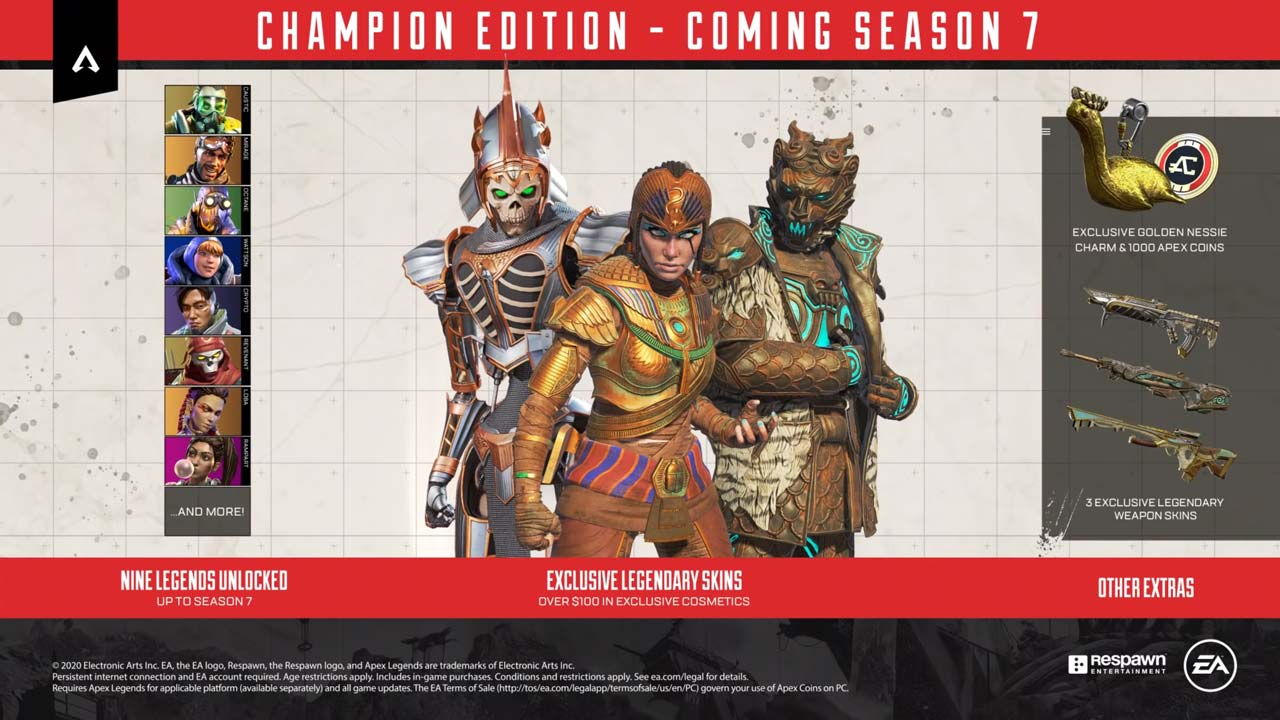 apex legends champion w2 - سی دی کی اورجینال Apex Legends - Champion Edition