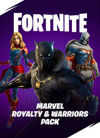 سی دی کی اورجینال Fortnite – Marvel: Royalty & Warriors Pack