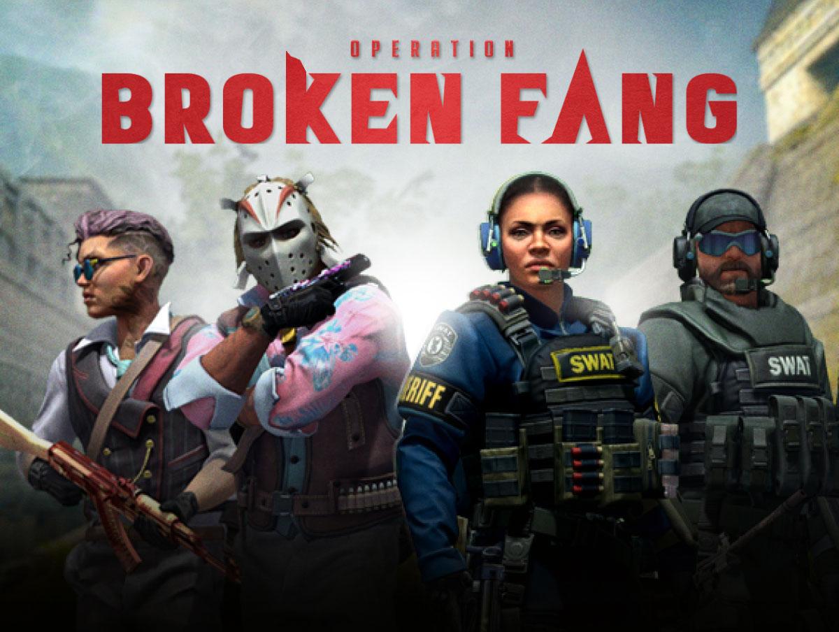 Operation Broken Fang w1 - سی دی کی اورجینال  CS:GO - Operation Broken Fang