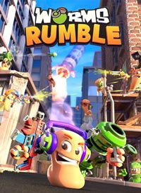 سی دی کی اورجینال Worms Rumble