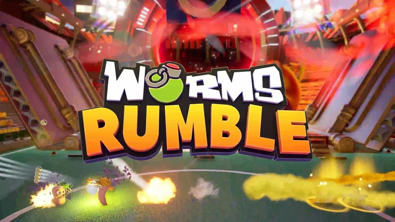 Worms Rumble w2 - سی دی کی اورجینال Worms Rumble
