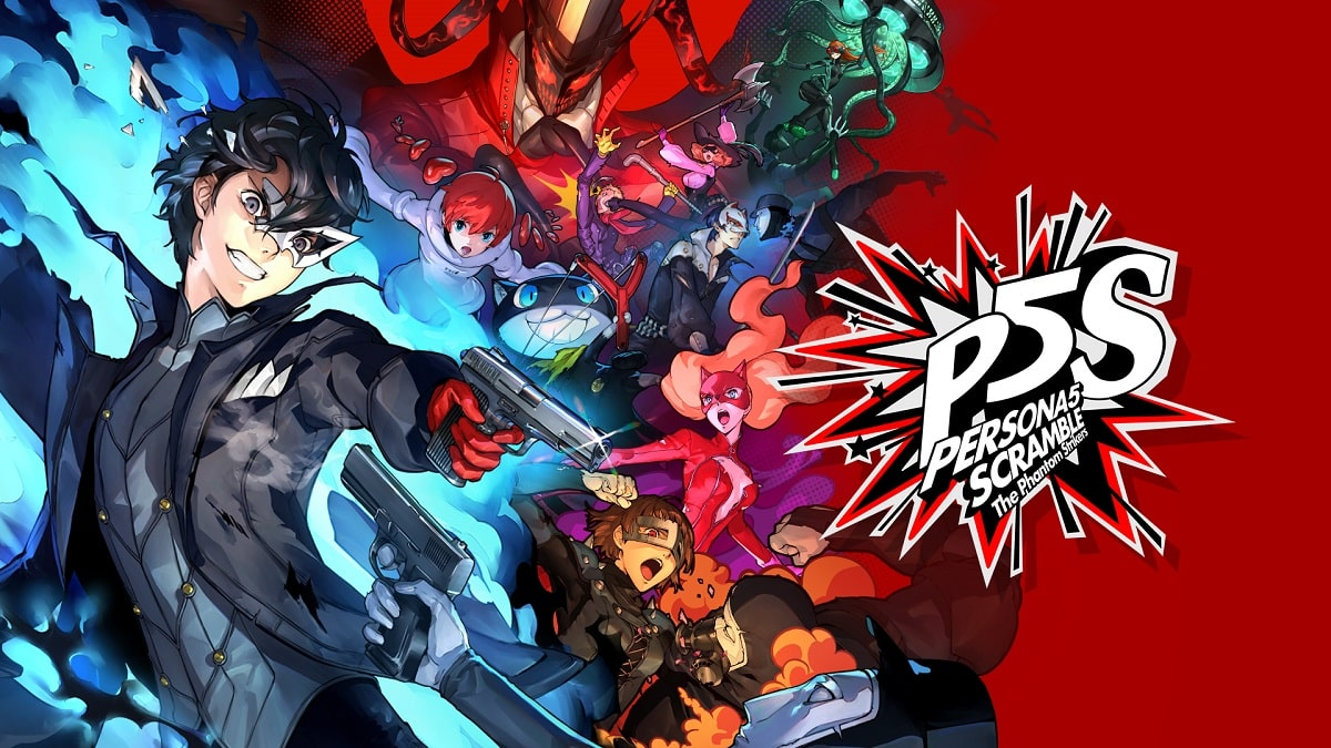 personaefbc95 scramblee38080the phantom strikers min - سی دی کی اورجینال Persona 5 Strikers