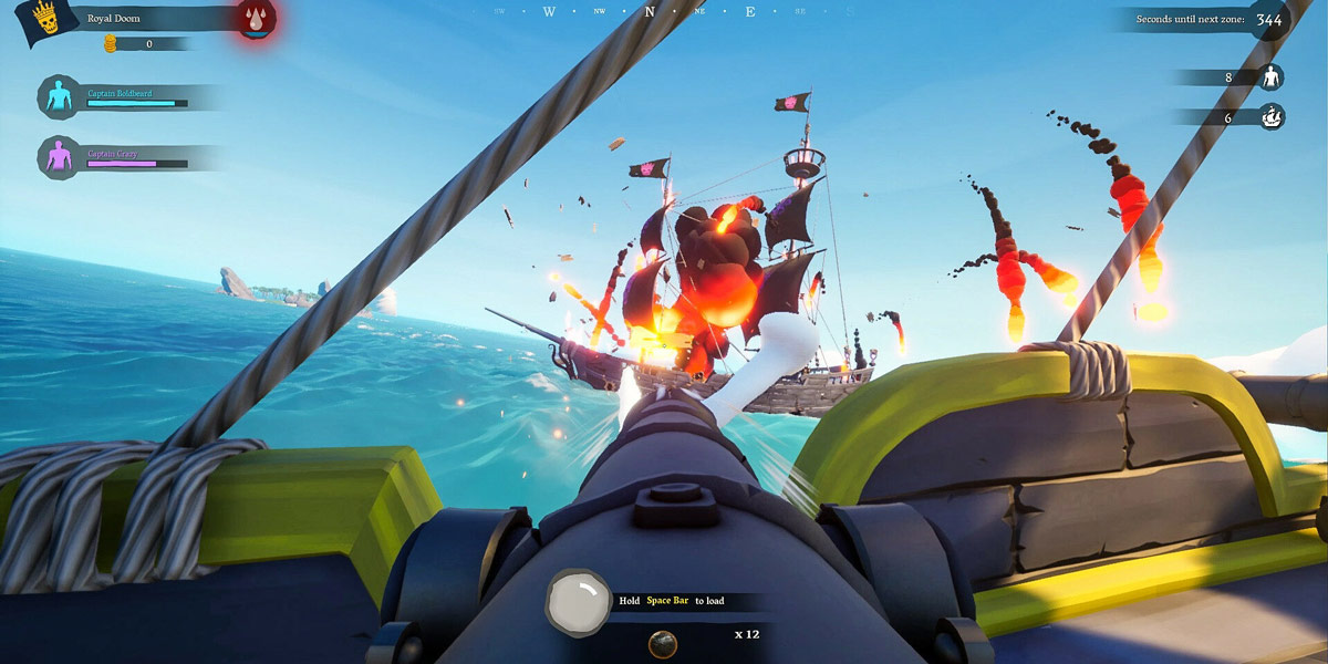 سی دی کی اورجینال Blazing Sails: Pirate Battle Royale on Steam