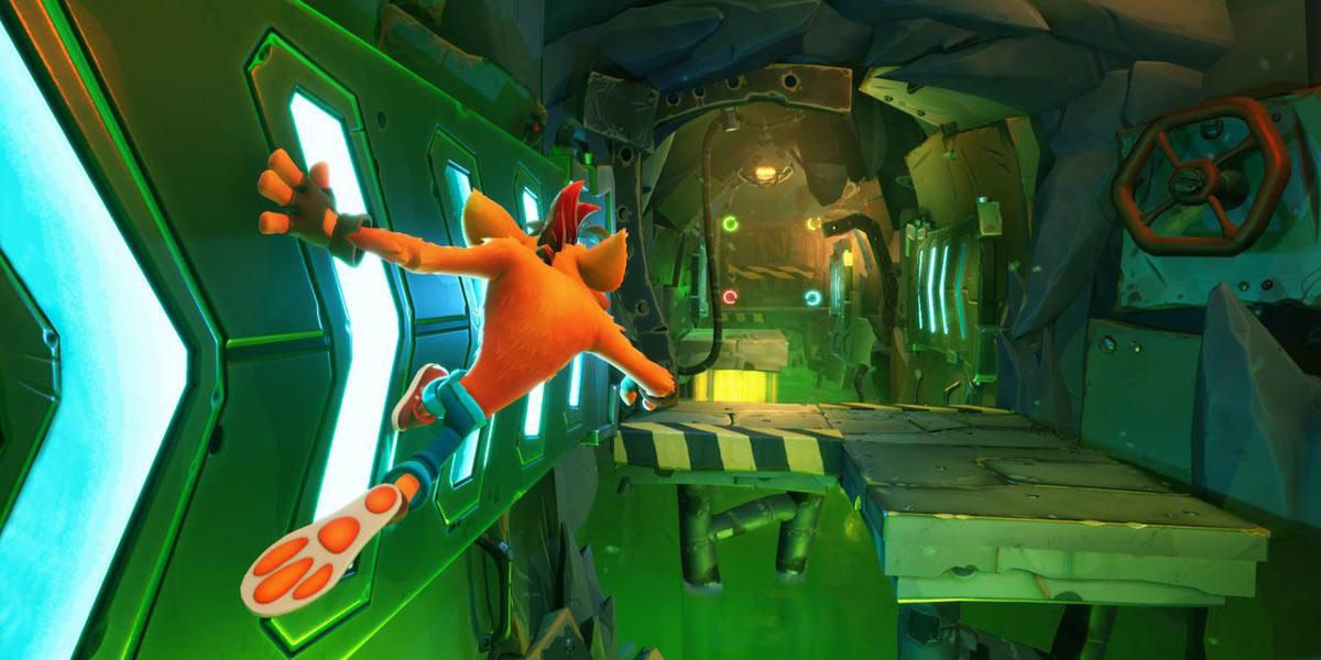 سی دی کی اورجینال Crash Bandicoot 4: It's About Time
