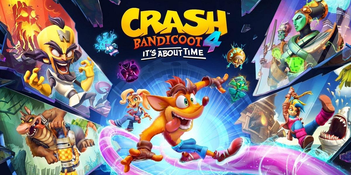 Crash Bandicoot 4 Its About Time 11 min - سی دی کی اورجینال Crash Bandicoot 4: It's About Time