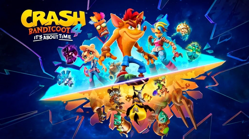 Crash Bandicoot 4 Its About Time 12 - سی دی کی اورجینال Crash Bandicoot 4: It's About Time