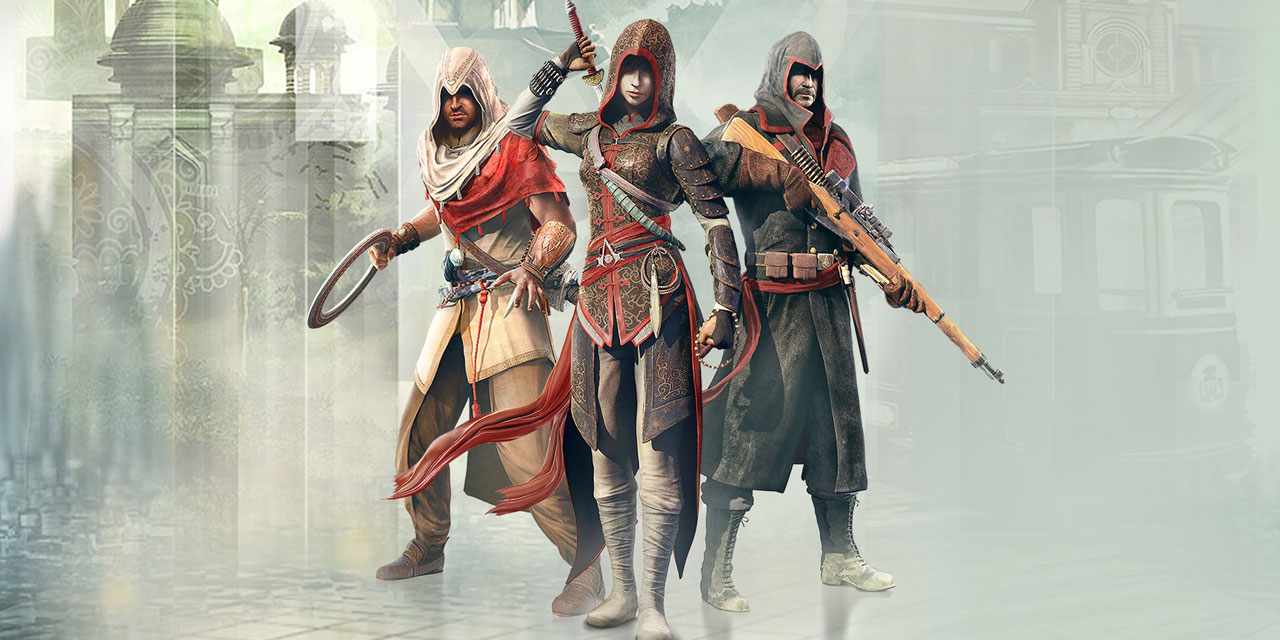 assassins creed chronicles w1 - سی دی کی اورجینال Assassin's Creed Chronicles