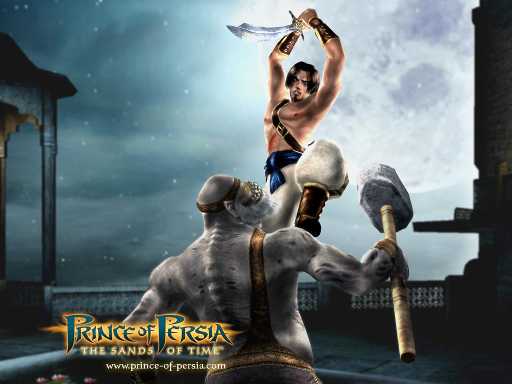 prins of persia sand w2 - سی دی کی اورجینال Prince of Persia: The Sands of Time