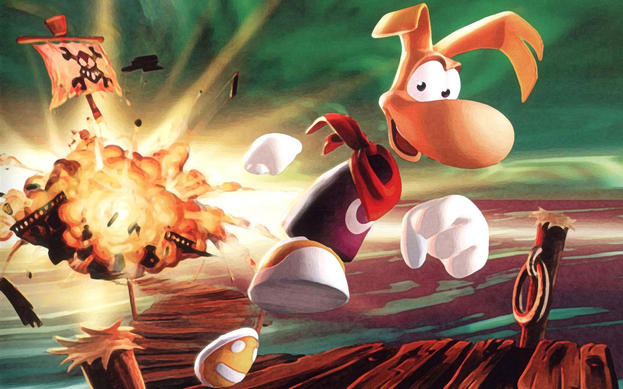 rayman 2 the great escape w1 - سی دی کی اورجینال Rayman 2: The Great Escape