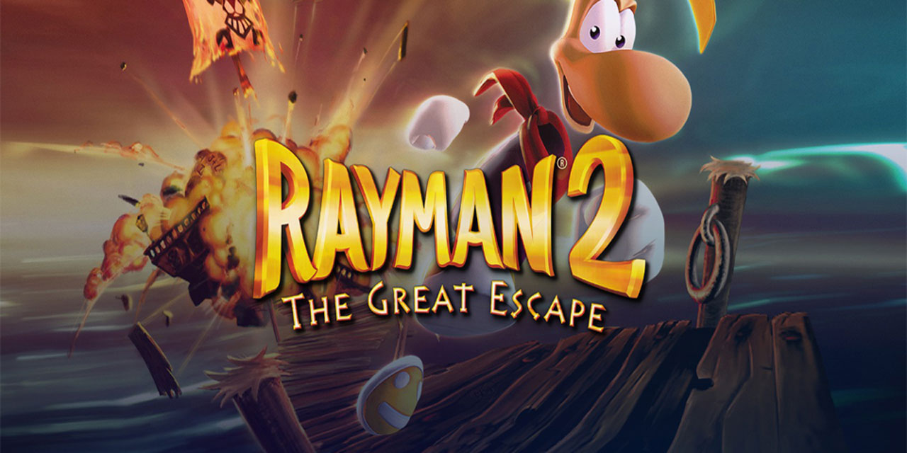 rayman 2 the great escape w2 - سی دی کی اورجینال Rayman 2: The Great Escape
