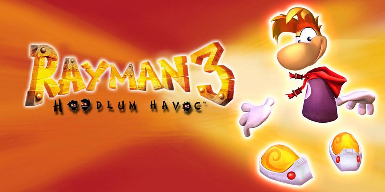 rayman hoodlum w1 - سی دی کی اورجینال Rayman 3: Hoodlum Havoc