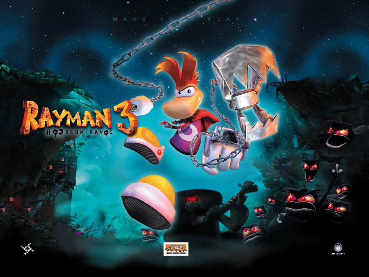 rayman hoodlum w2 - سی دی کی اورجینال Rayman 3: Hoodlum Havoc