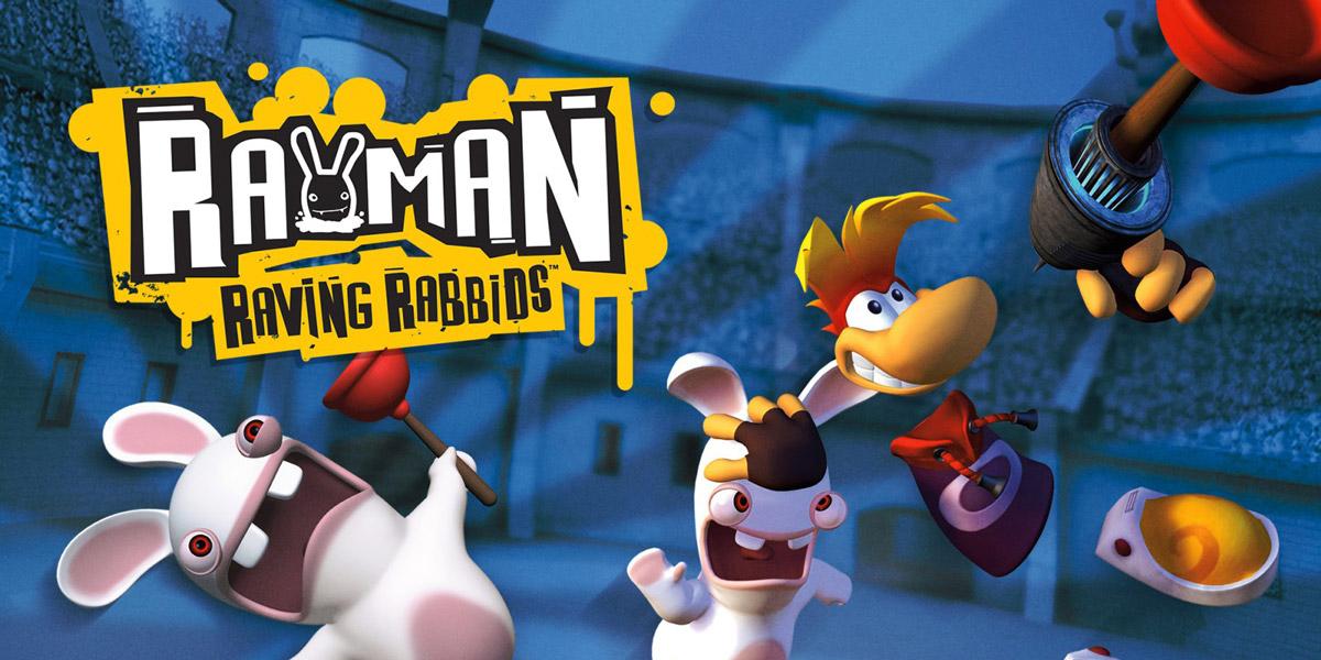 rayman raving rab w1 - سی دی کی اورجینال Rayman Raving Rabbids