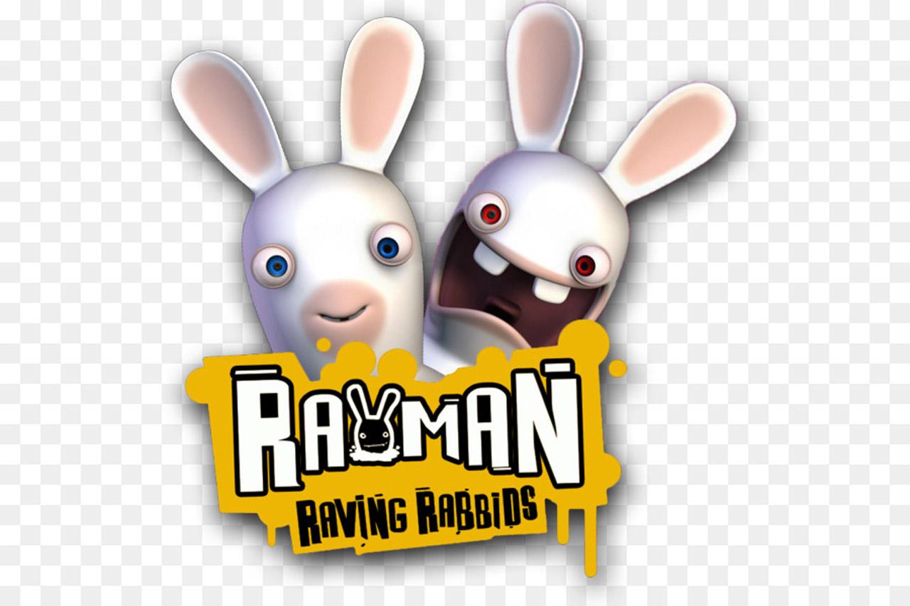 rayman raving rab w2 - سی دی کی اورجینال Rayman Raving Rabbids