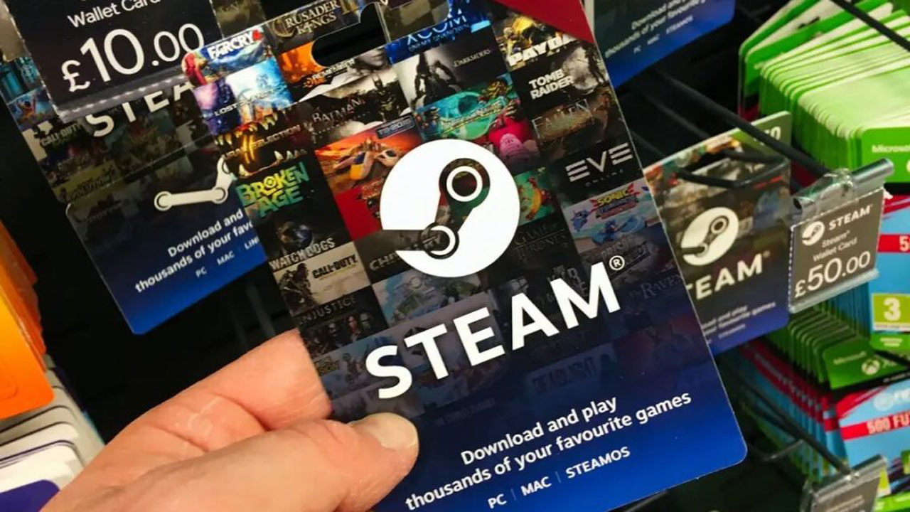 steam wallet gift g2 - استیم والت گیفت کارت Steam Wallet Gift Card