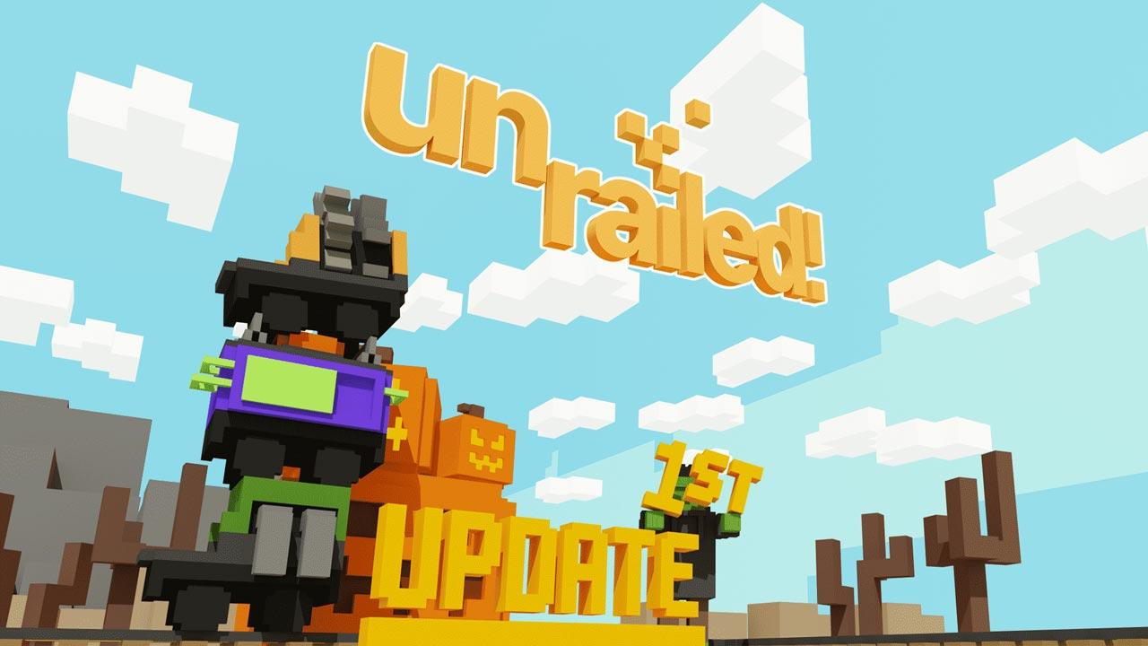 unrailed w1 - سی دی کی اورجینال Unrailed!