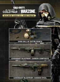 Black Ops Cold War Gilded Age c 194x266 - سی دی کی اورجینال Black Ops Cold War - Gilded Age III: Pro Pack