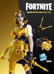 سی دی کی اورجینال Fortnite – Golden Touch Challenge Pack