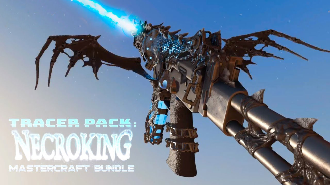 Tracer Pack NecroKing Mastercraft g1 - سی دی کی اورجینال Call of Duty: Warzone - Tracer Pack: NecroKing Mastercraft