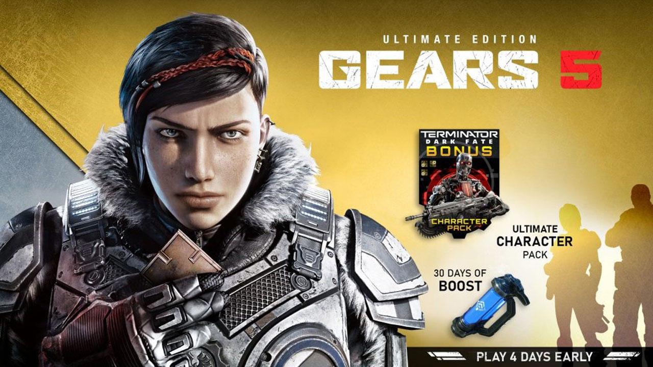 Gears 5 Ultimate Edition xbox g1 - اکانت قانونی Gears 5