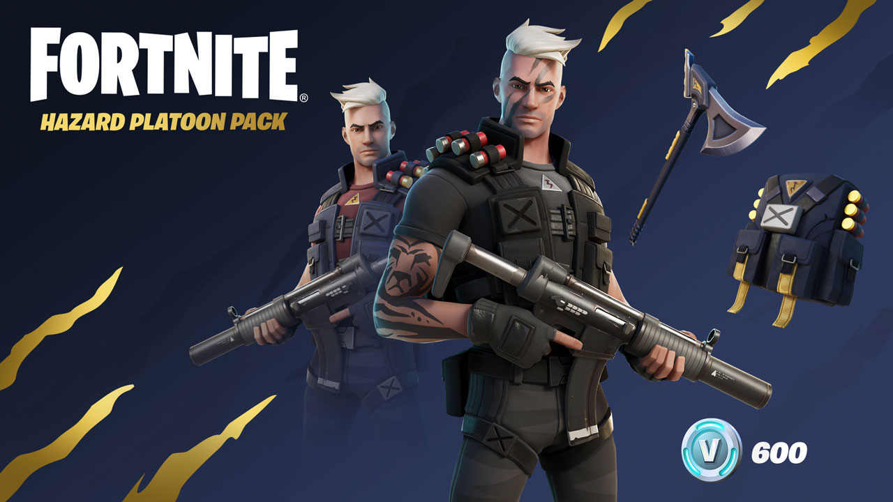 Hazard Platoon Pack pc g1 - 600 وی باکس  Fortnite (PC/PS4/xbox) Starter Pack