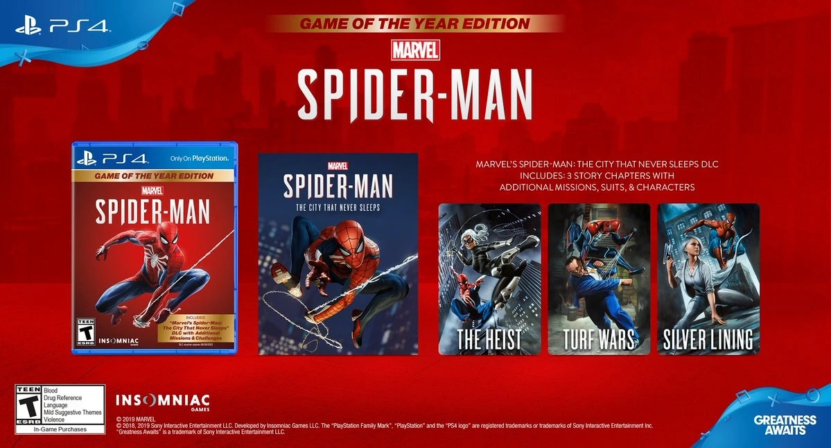 Marvel Spider Man Game of the Year Edition PS5 g2 - اکانت قانونی Marvel's Spider-Man: Game of the Year Edition  / PS4