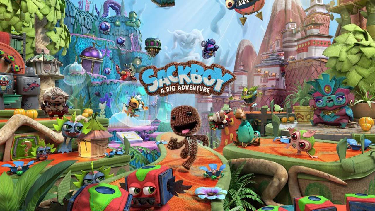 Sackboy A Big Adventure PS5 1 - اکانت قانونی Sackboy: A Big Adventure  / PS4 | PS5