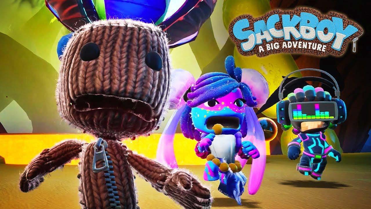 Sackboy A Big Adventure PS5 2 - اکانت قانونی Sackboy: A Big Adventure  / PS4 | PS5