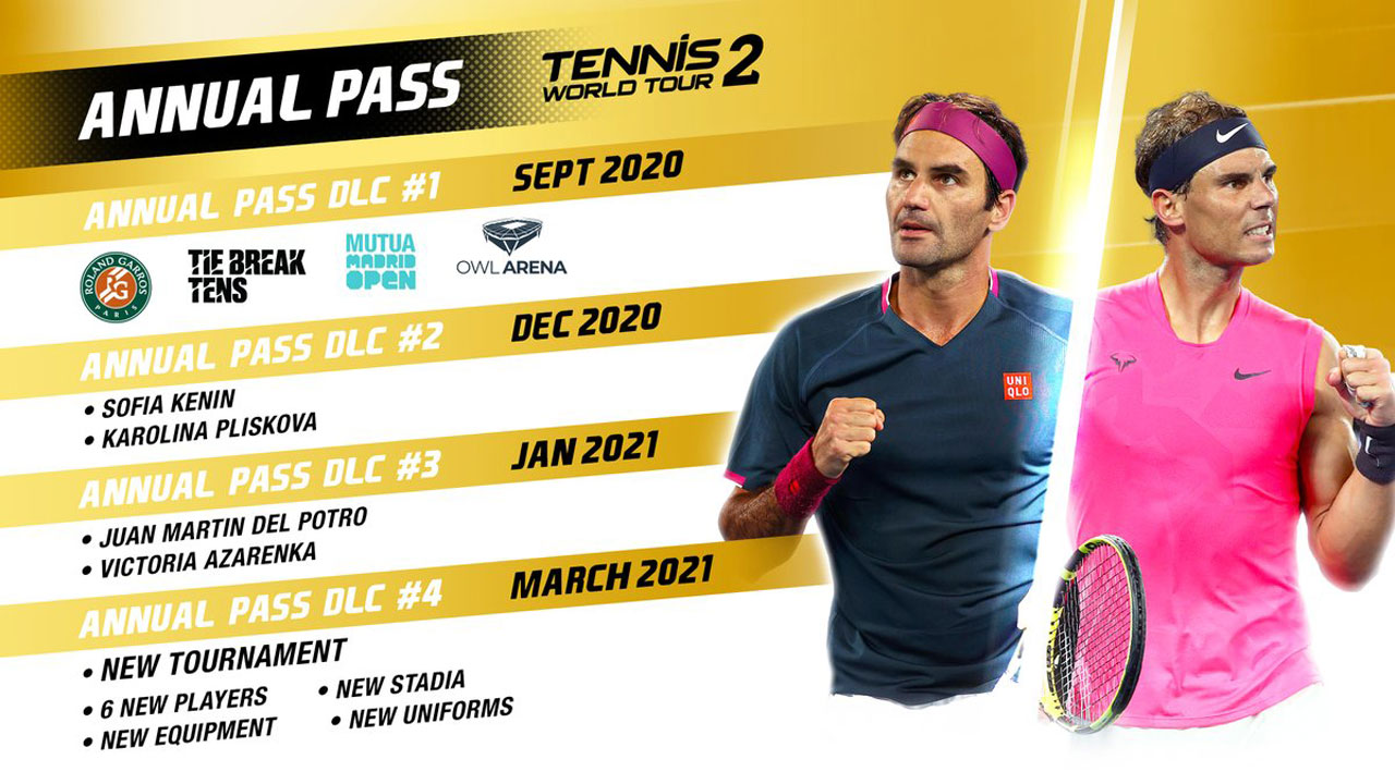 Tennis World Tour 2 g15 - اکانت قانونی  Tennis World Tour 2  / PS5